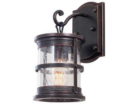 Kalco Lighting Hemlock Antique Copper Wall Sconce