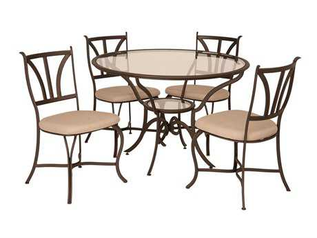 Kalco Lighting Santa Barbara Satin Bronze Dining Side Chair