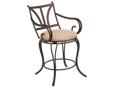 Kalco Lighting Santa Barbara Satin Bronze Bar Stool