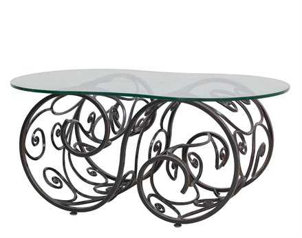 Kalco Lighting Windsor Antique Copper Indoor & Outdoor 26 x 42 Coffee Table