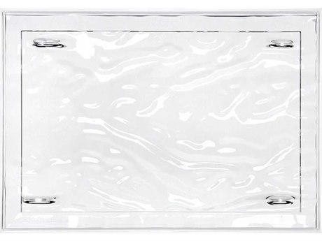 Kartell Outdoor Dune Crystal 18'' Wide Tray (Sold in 4) PatioLiving