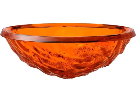 Kartell Outdoor Moon Orange Bowl (Sold in 2) PatioLiving