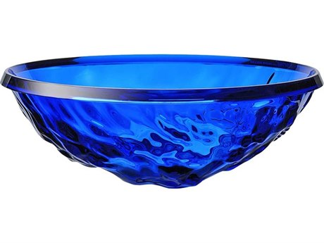 Kartell Outdoor Moon Blue Bowl (Sold in 2) PatioLiving