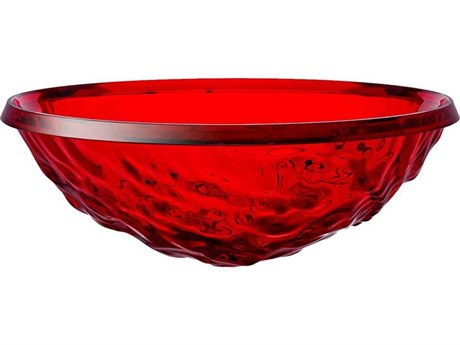 Kartell Outdoor Moon Red Bowl (Sold in 2) PatioLiving
