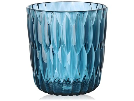 Kartell Outdoor Jelly Power Blue Vase (Sold in 2) PatioLiving