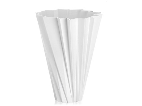 Kartell Outdoor Shanghai White Vase PatioLiving