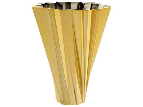 Kartell Outdoor Shanghai Gold Vase PatioLiving