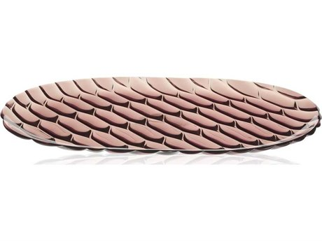 Kartell Outdoor Jellies Pink 14'' Wide Tray (Sold in 4)