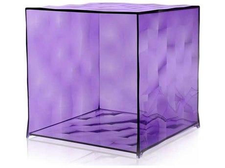 Kartell Outdoor Optic Violet Container without Door
