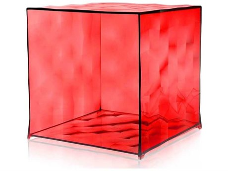 Kartell Outdoor Optic Red Container without Door