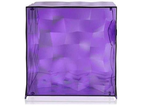 Kartell Outdoor Optic Violet Container with Door