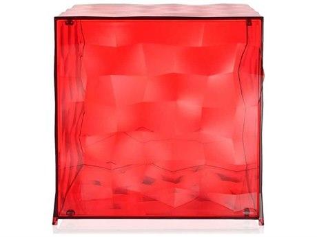 Kartell Outdoor Optic Red Container with Door