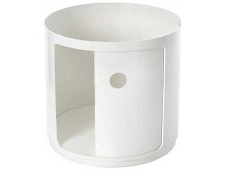Kartell Outdoor Componibili White Storage Rack PatioLiving