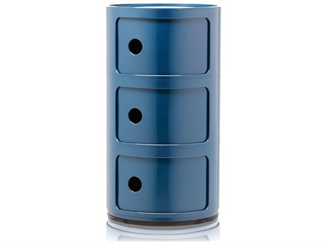 Kartell Outdoor Componibili Blue Storage Rack PatioLiving