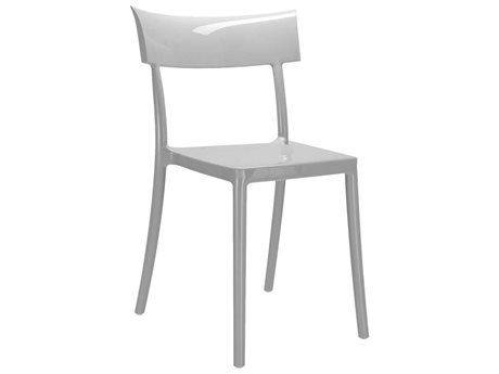 Kartell Outdoor Catwalk Grey Resin Dining Chair (Sold in 2)