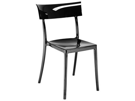 Kartell Outdoor Catwalk Black Resin Dining Chair (Sold in 2)