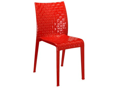 Kartell Outdoor Ami Red Resin Sling Dining Chair (Sold in 2) KAO5820E7