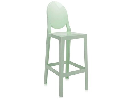 Kartell Outdoor One More Opaque Green Resin Bar Stool (Sold in 2)