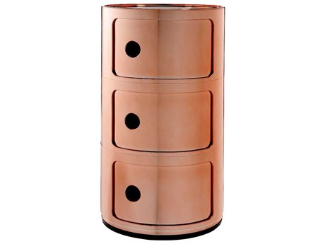 Kartell Outdoor Componibili Copper Storage Rack PatioLiving