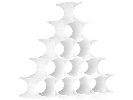 Kartell Outdoor Infinity White Storage Rack
