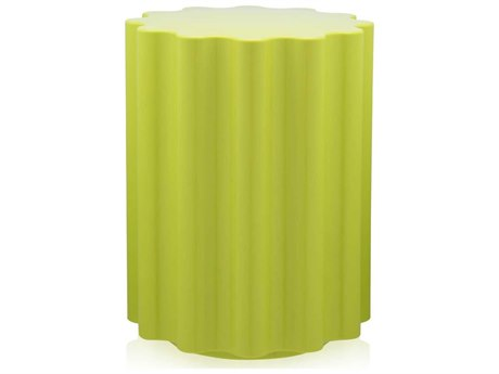Kartell Outdoor Colonna Green Resin Dining Chair