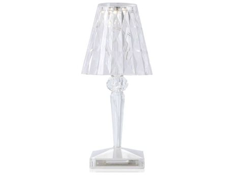Kartell Outdoor Battery Transparent Crystal Light (Sold in 4) PatioLiving