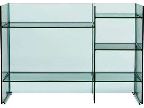 Kartell Outdoor Sound Aquamarine Storage Rack