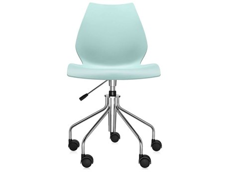 Kartell Maui on Pump Pale Green Computer Chair