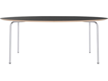 Kartell Maui 79''L x 34''W Oval Dining Table