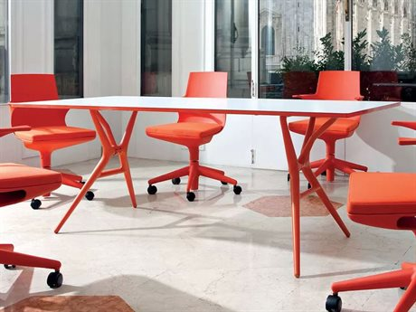 Kartell Spoon 55''L x 29''W Rectangular Dining Table