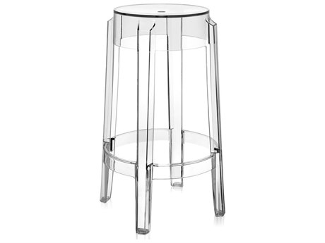 Kartell Charles Ghost Counter Stool (Sold in 2)