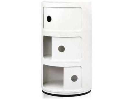 Kartell Componibili Three-Door File Cabinet