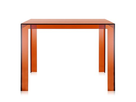 Kartell Invisible 39'' Wide Square End Table