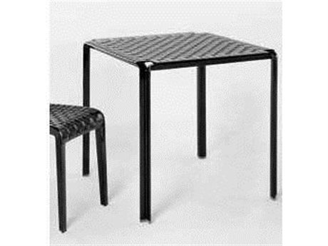 Kartell Ami Ami Glossy Black 28'' Wide Square Dining Table
