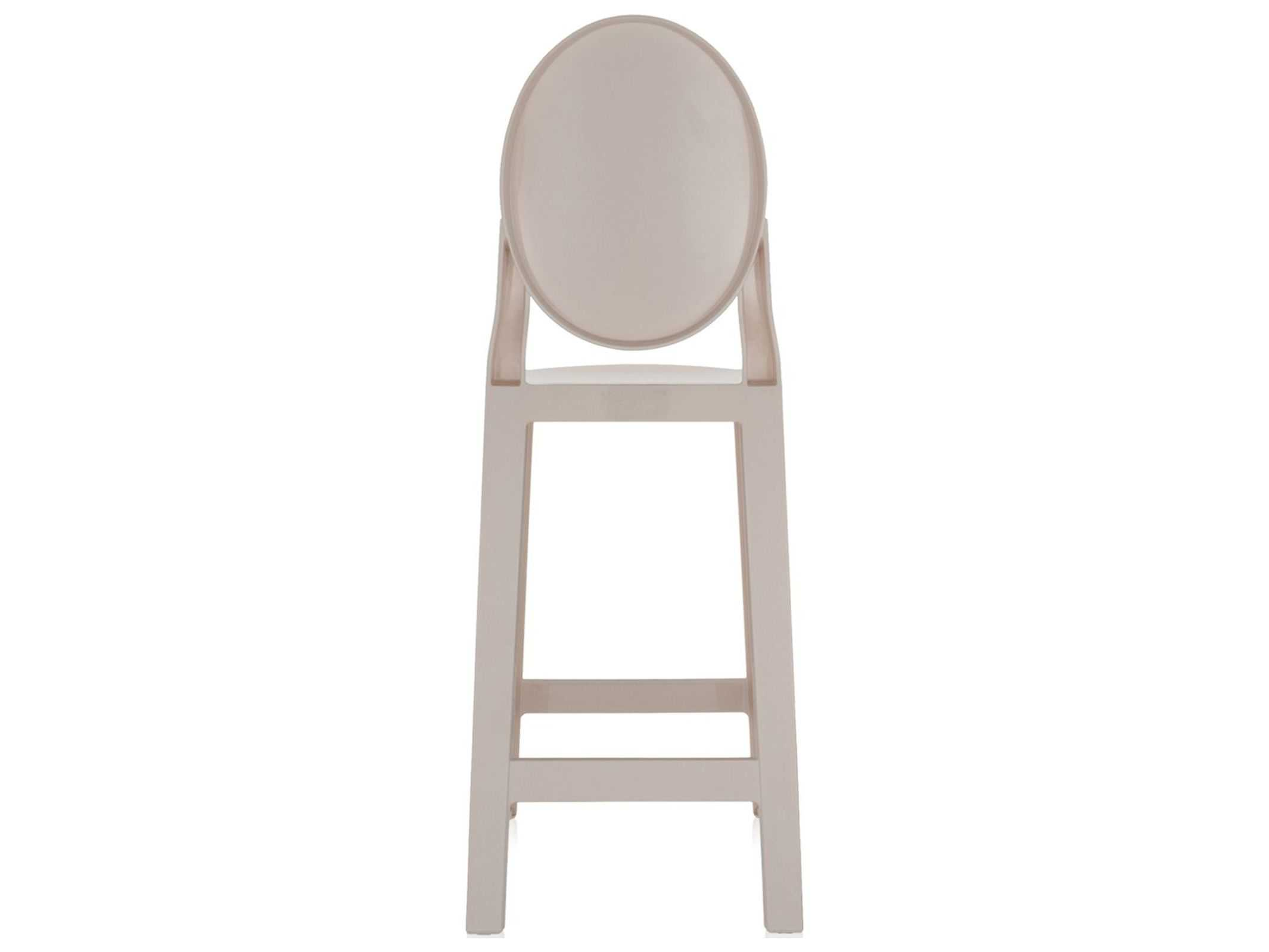 Kartell One More Sand Counter Stool Sold In 2 Kar5890g2