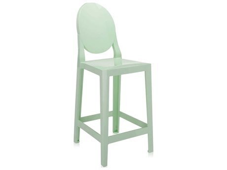 Kartell One More Green Counter Stool (Sold in 2)