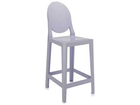 Kartell One More Lavender Counter Stool (Sold in 2)