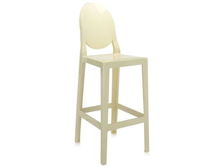 Kartell One More Yellow Bar Stool (Sold in 2)