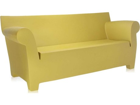 Kartell Bubble Club Light Yellow Sofa