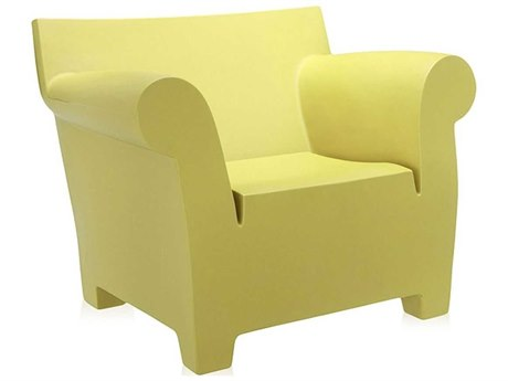 Kartell Bubble Light Yellow Club Chair