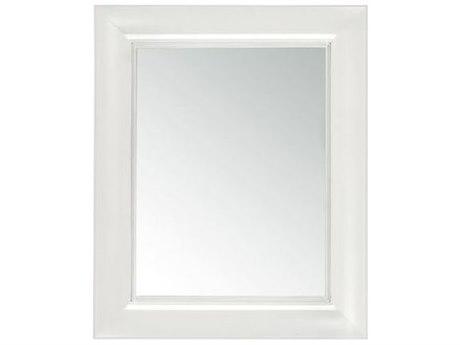 Kartell Francois Ghost 26''W x 31''H Rectangular Wall Mirror