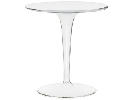 Kartell Tip Top 19'' Wide Round Pedestal Table