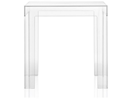 Kartell Jolly 16'' Wide Square End Table