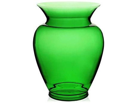 Kartell Boheme Transparent Bottle Green Vase