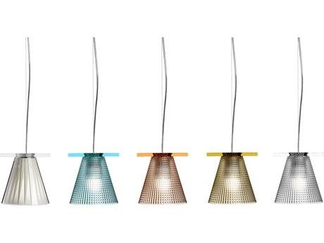 Kartell Light-Aire 6'' Wide Mini Pendant Light