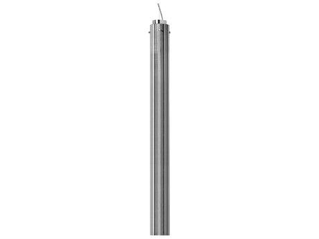 Kartell Rifly Metallic Chrome 36'' High LED Pendant Light