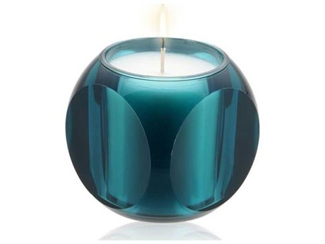 Kartell Dice Transparent Blue Portofino Candle Holder (Sold in 2)
