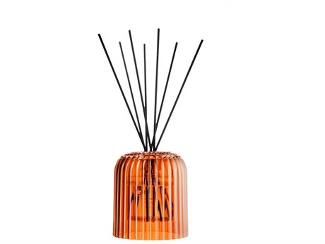Kartell Cache Transparent Orange Neroli Reed Diffuser (Sold in 2)