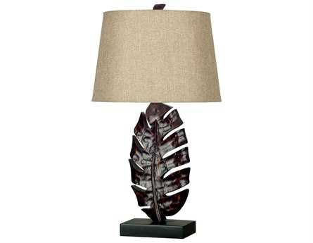 Kenroy Home Frond Mottled Bronze Table Lamp