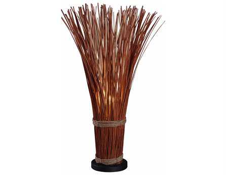 Kenroy Home Sheaf Natural Reed Table Lamp